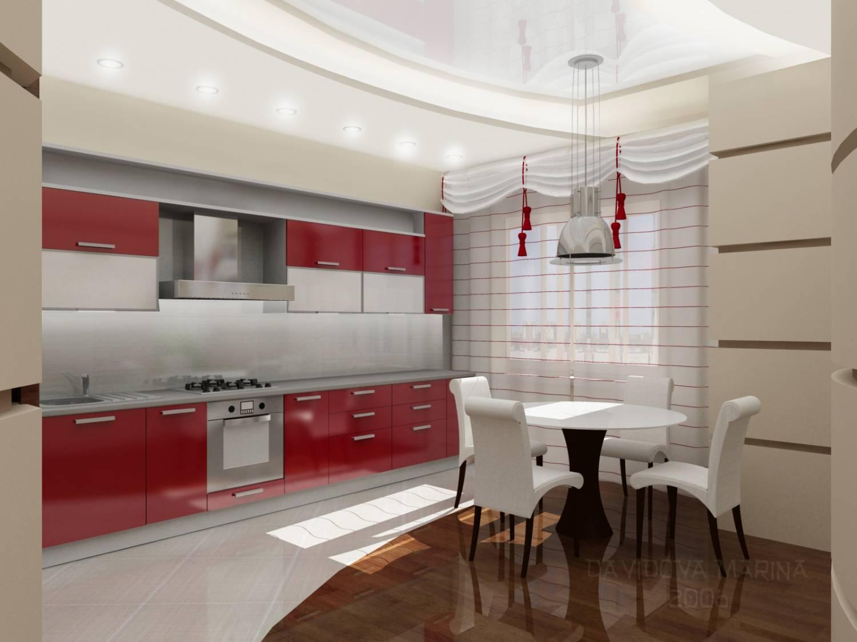 Дизайн отделки кухни